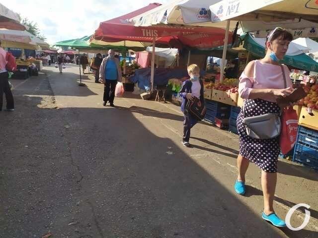 На одном из одесских базаров