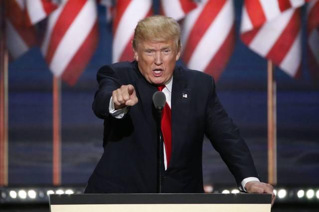 Трамп пообещал выстраивать мир с позиции силы после создания нового оружия [В Мире]