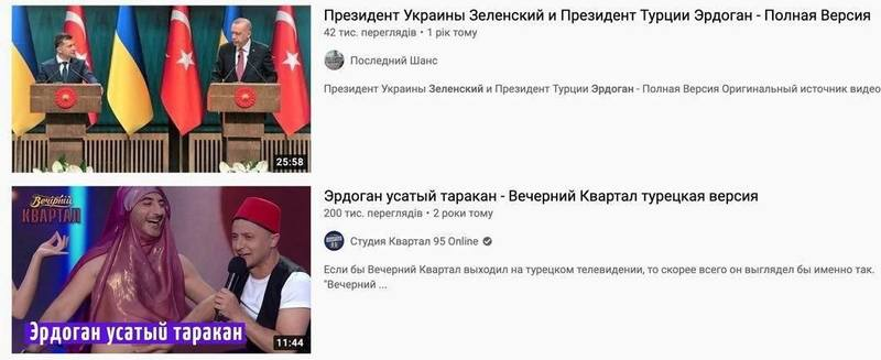 На Украине издеваются над турецким визитом преданности