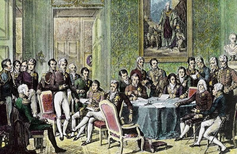 Участники Венского конгресса 1815 года
