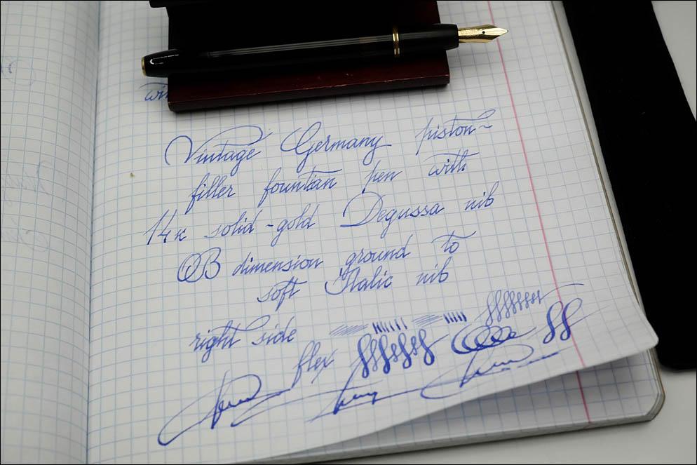 RexGold Degussa OB to Soft Italic M
