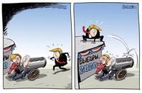Выборы 2020: Трамп, бастинда Хиллари Клинтон и маразматик Джо Байднг