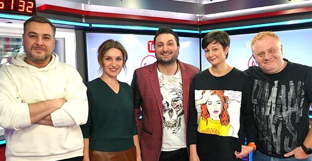 Дуэт «2 ОКеана» стали гостями утреннего шоу «Русские Перцы» на «Русском радио» - Новости радио OnAir.ru