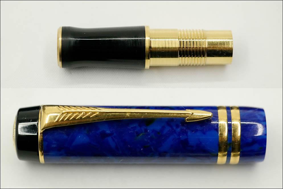 Parker Duofold International Lapis Lazuli MK-II. Lenskiy.org