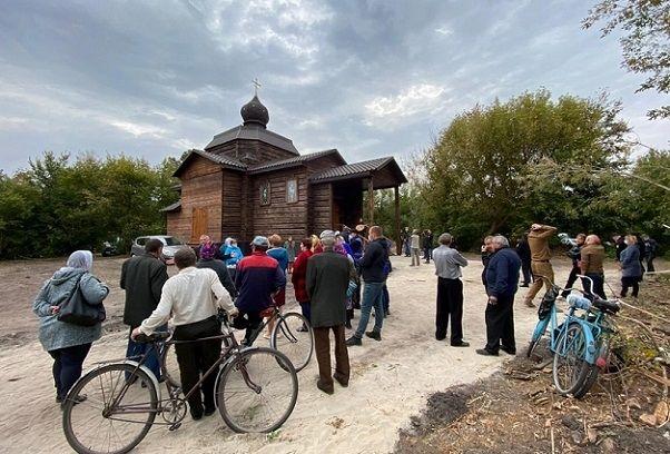 Храм в селе Беловежи отреставрировала УПЦ МП, а отобрала ПЦУ