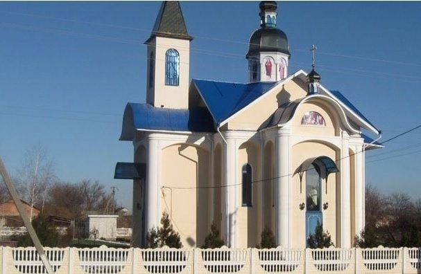 Храм в селе Успенка