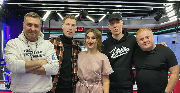 Участники группы Dabro стали гостями утреннего шоу «Русские Перцы» на «Русском Радио» - Новости радио OnAir.ru