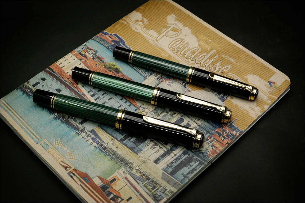 Pelikan Souveran M1000 vs M800 vs M600. Lenskiy.org