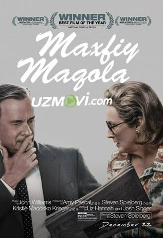 Maxfiy maqola