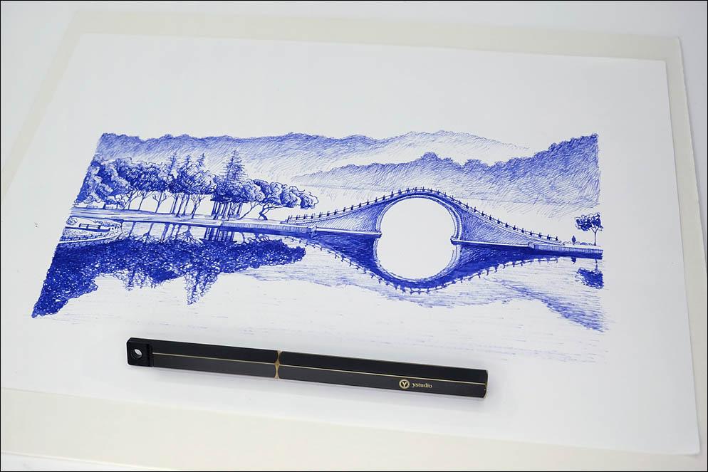 Ystudio Brassing - Portable Fountain Pen. Lenskiy.org