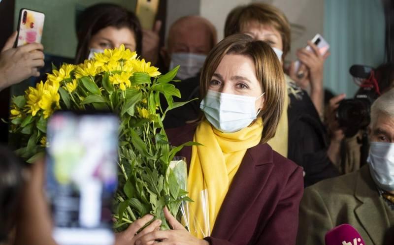 Победитель президентский выборов в Молдавии – унионистка Майя Санду