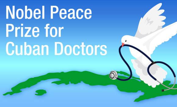 Пять парламентариев назначают кубинских медиков на Нобелевскую премию мира