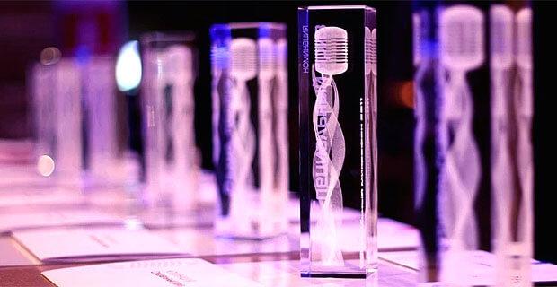 Состоялась церемония награждения Премии «Хрустальный микрофон - 2020» - Новости радио OnAir.ru