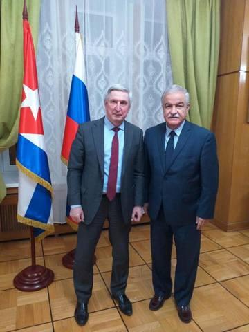Посол Кубы встретился с Первым заместителем Председателя Государственной Думы РФ