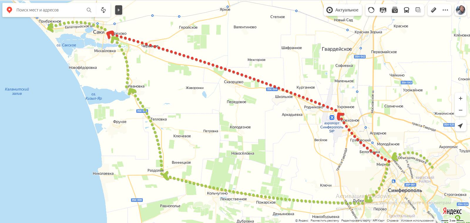 Екатеринбург - Крым - Екатеринбург с 9 по 24 июля 2020 года: часть #4 - Третий день. 1310 км.