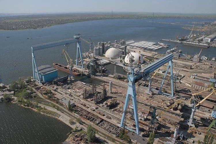 Черноморский судостроительный завод сегодня