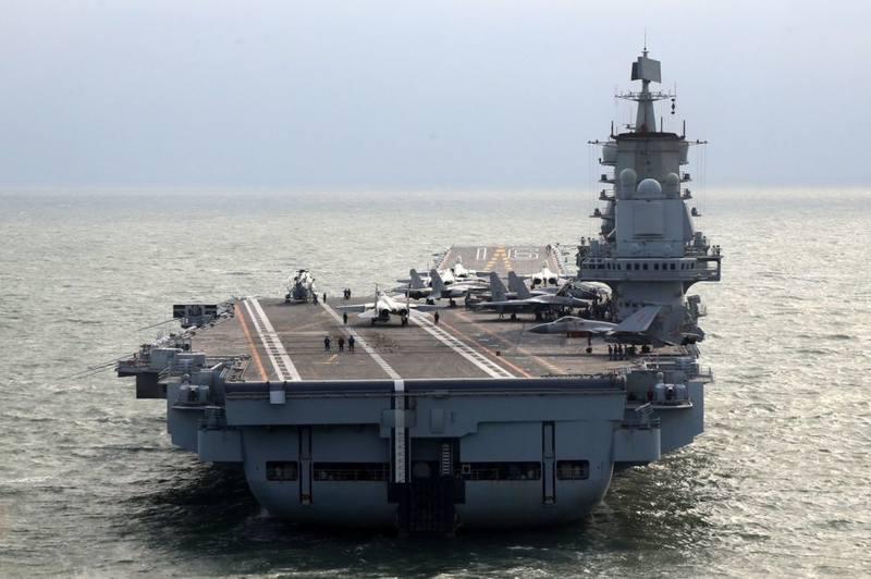 Бывший «Варяг» – китайский авианосец «Ляонин»