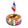 аватар турнира Дружба народов для французского языка (торт с флажком Франции) _201213 ©GenuineLera, 2020