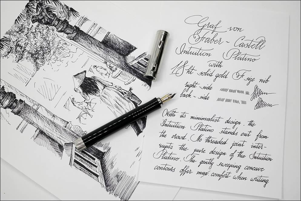 Graf von Faber-Castell Intuition Platino. Lenskiy.org