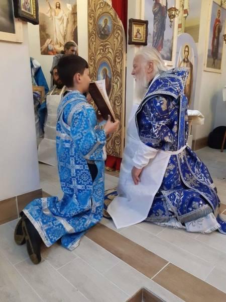 Освящение нового храма приселка Ясиня/Кевелев