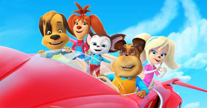 Детское радио поддерживает семейный анимационный фильм «Барбоскины на даче» - Новости радио OnAir.ru