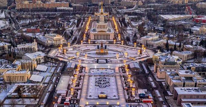 Зимние прогулки по ВДНХ с «Радио 7 на семи холмах» - Новости радио OnAir.ru