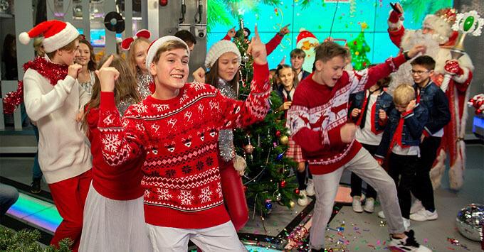 Видеоверсия «Радиоутренник с Главным Дедом Морозом» уже на YouTube - Новости радио OnAir.ru