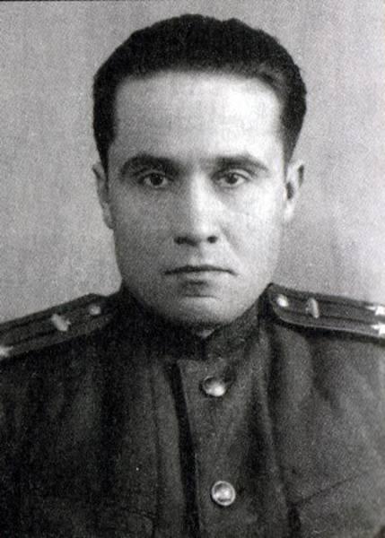 Виталий Федорчук в звании подполковника. 1950 г.