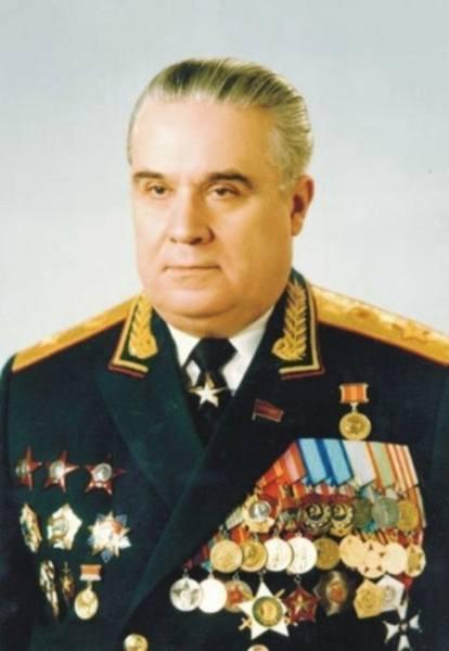 Виталий Федорчук в последние годы службы
