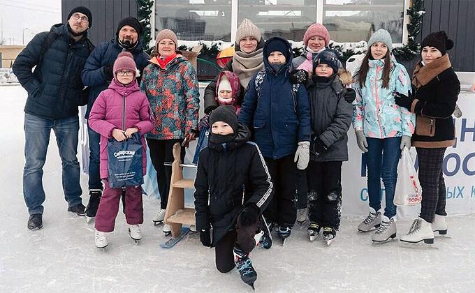 На ледовом катке прошла вечеринка Dipol FM