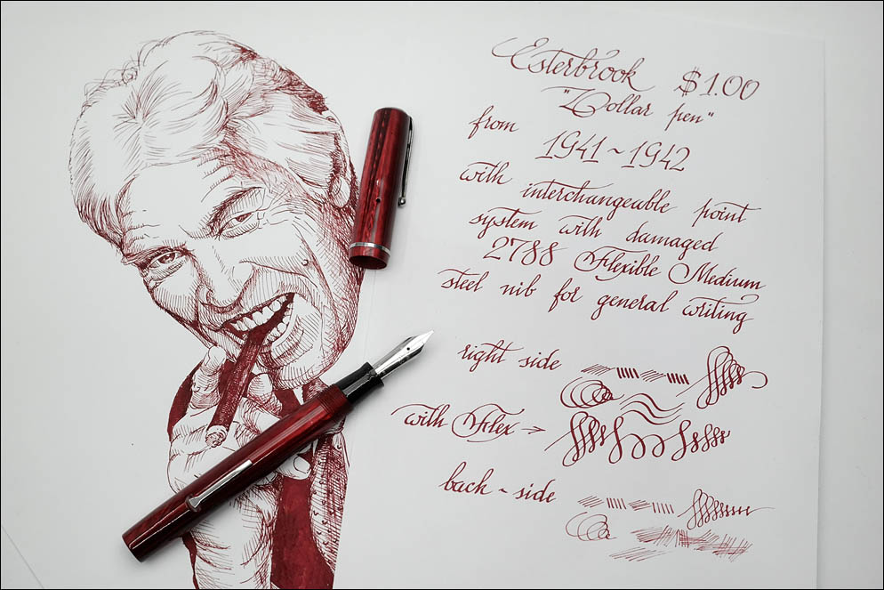Esterbrook Dollar pen 1941-1942. Lenskiy.org