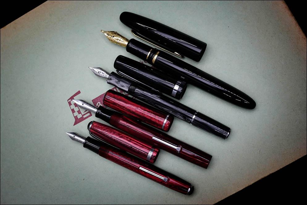 Esterbrook Estie vs Esterbrook JR Pocket Pen vs Estervrook Dollar pen vs Esterbrook J(SJ). Lenskiy.org