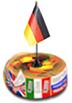 аватар турнира Дружба народов для немецкого языка (торт с флажком Германии) _201213 ©GenuineLera, 2020