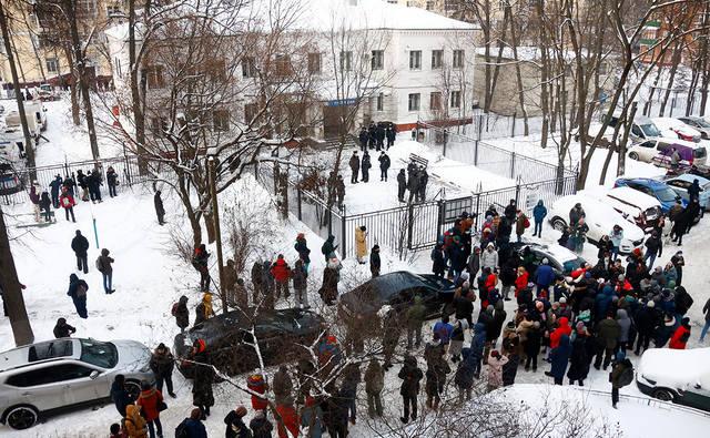 Суд арестовал Навального на 30 суток [В России]