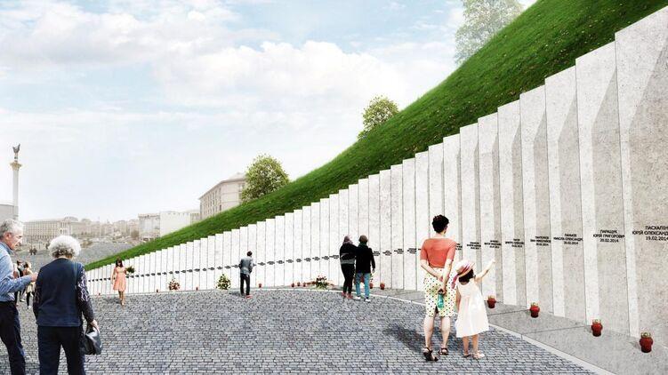 Проект Мемориала небесной сотне