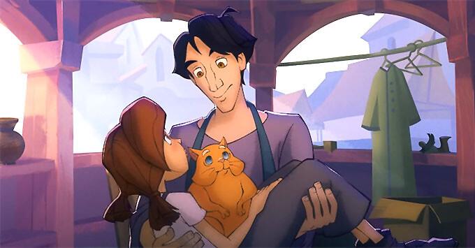 «Радио Дача» представляет: анимационный фильм «Огонёк-Огниво»