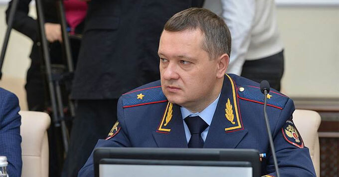 Уволенный по делу Ивана Голунова генерал возглавил Счетную палату Брянской области