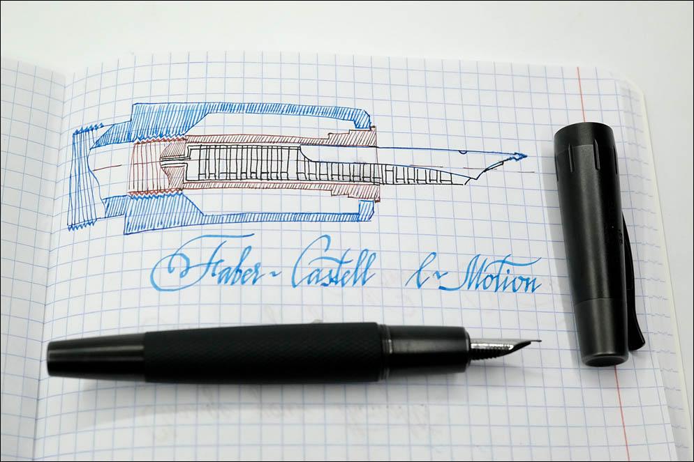 Faber-Castell E-Motion Pure Black. Lenskiy.org