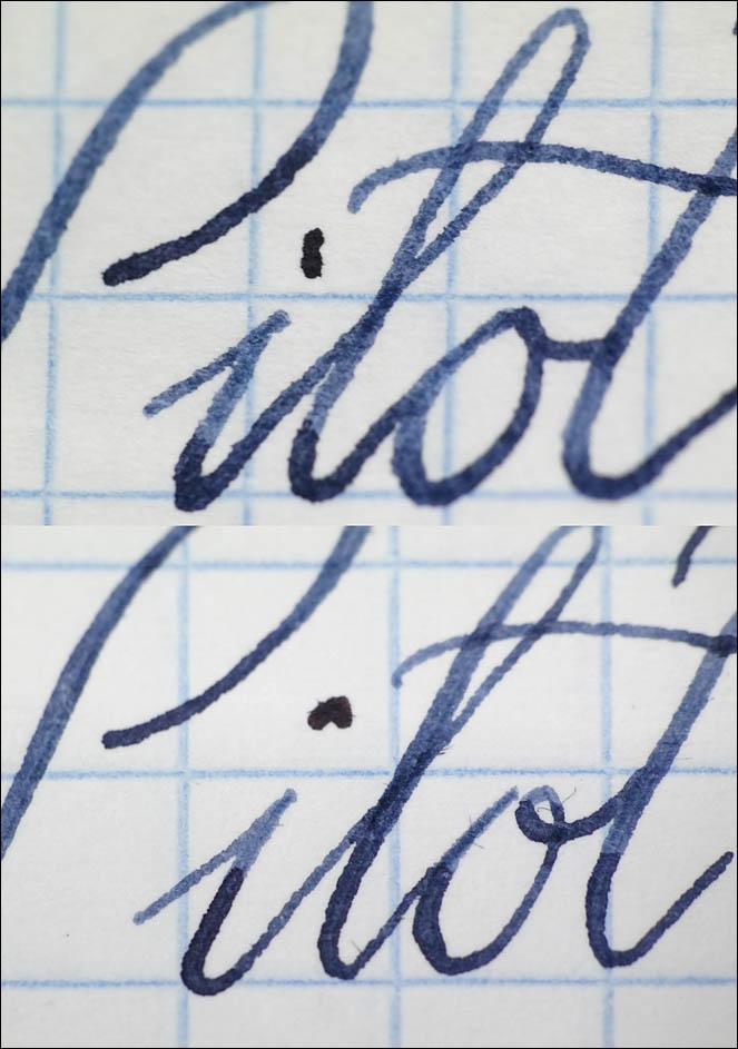 Podillya fountain pens and inks test. Lenskiy.org