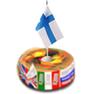 аватар турнира Дружба народов для финского языка (72x103 торт с флажком Финляндии) _210131 ©GenuineLera, 2020