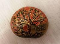 пресс-папье И на камнях растут деревья