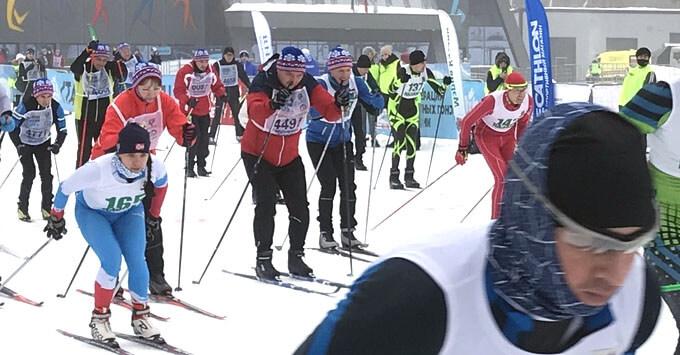 Всероссийская массовая гонка «Лыжня России-2021» состоялась в Казани при поддержке Радио ENERGY - Новости радио OnAir.ru