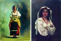Бронников Федор Андреевич (1827 - 1902); Илья Ефимович Репин (1844 - 1930)