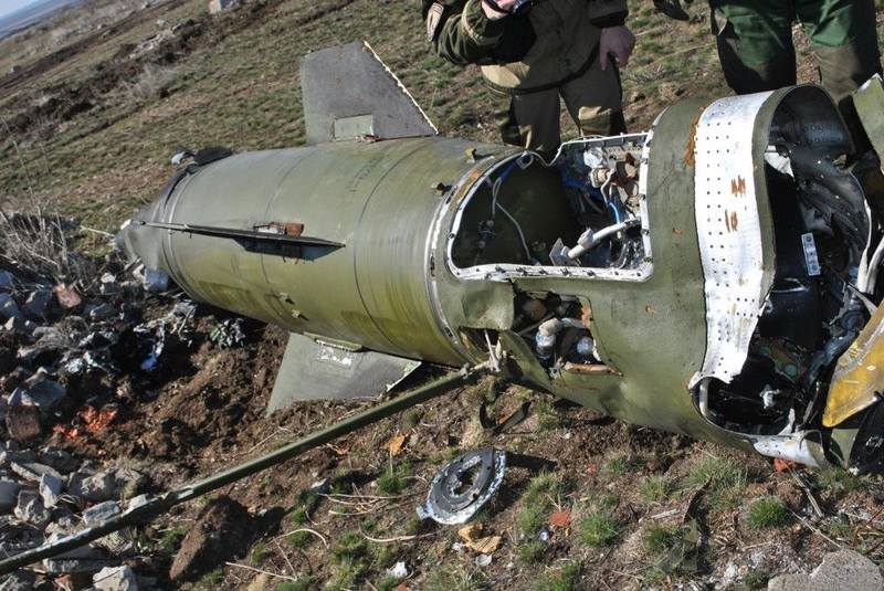 Ракета «Точка-У», упавшая в Логвиново