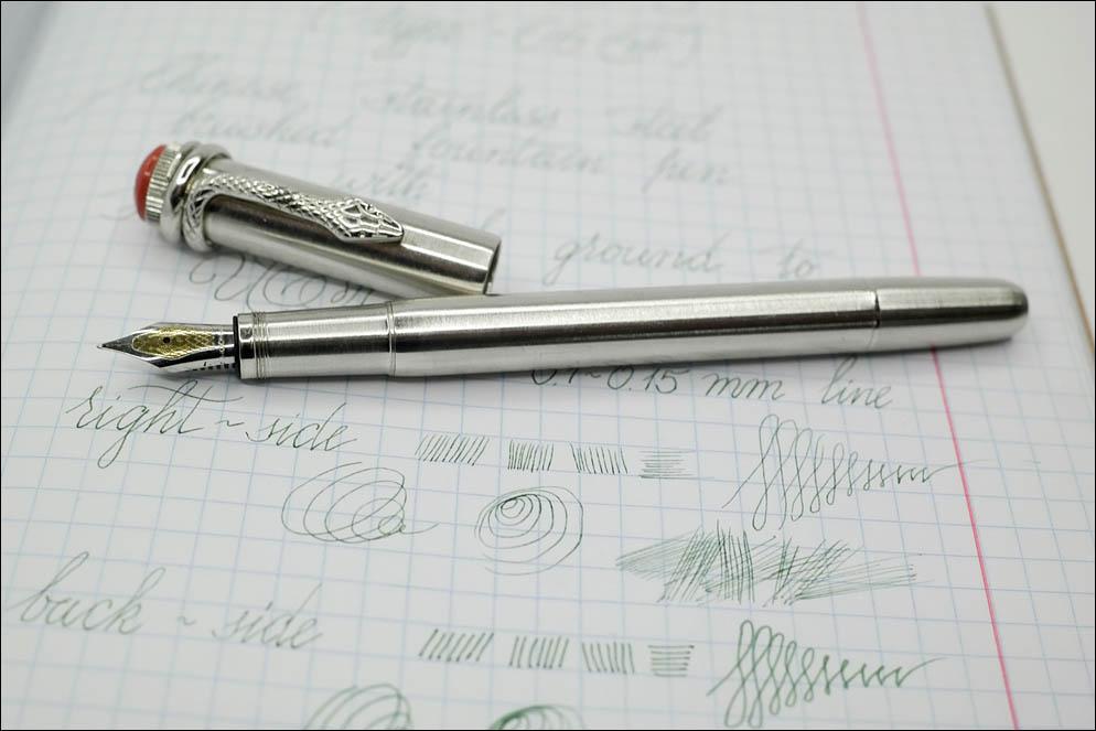 Moonman F9 with Drawing nib grind. Lenskiy.org
