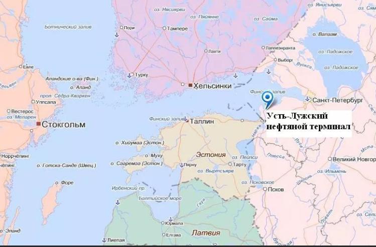 Усть-Луга очень выгодно расположена и скоро может стать центральным транспортным узлом все северо-восточной Европы (фото взято из открытых источников)