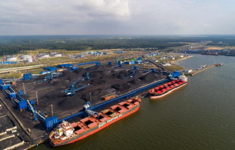 Угольный терминал в Усть-Луге (фото взято из открытых источников). начиная с конца 2020 года весь российский уголь идет через этот порт