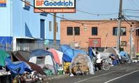США, Калифорния, бездомные