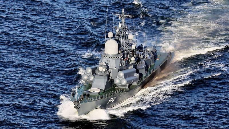 Корабли Балтийского флота.