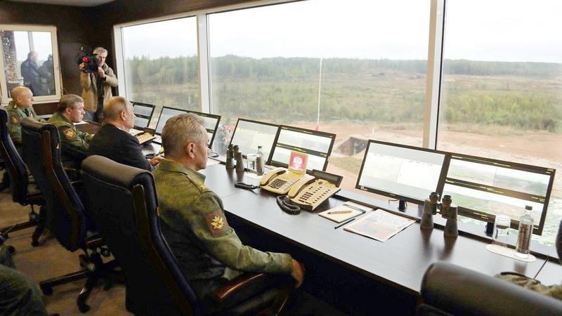 Верховное Главное командование Вооружённых Сил РФ на стратегических учениях «Запад-2017».